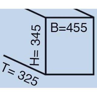 wesco 757451 85 einbau abfallsammler trio shorty 53 95. Black Bedroom Furniture Sets. Home Design Ideas